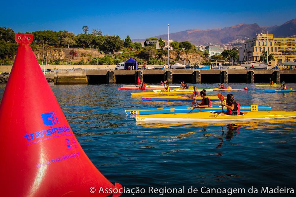 Regata Dia da Cidade Funchal/Primeiras Pagaiadas