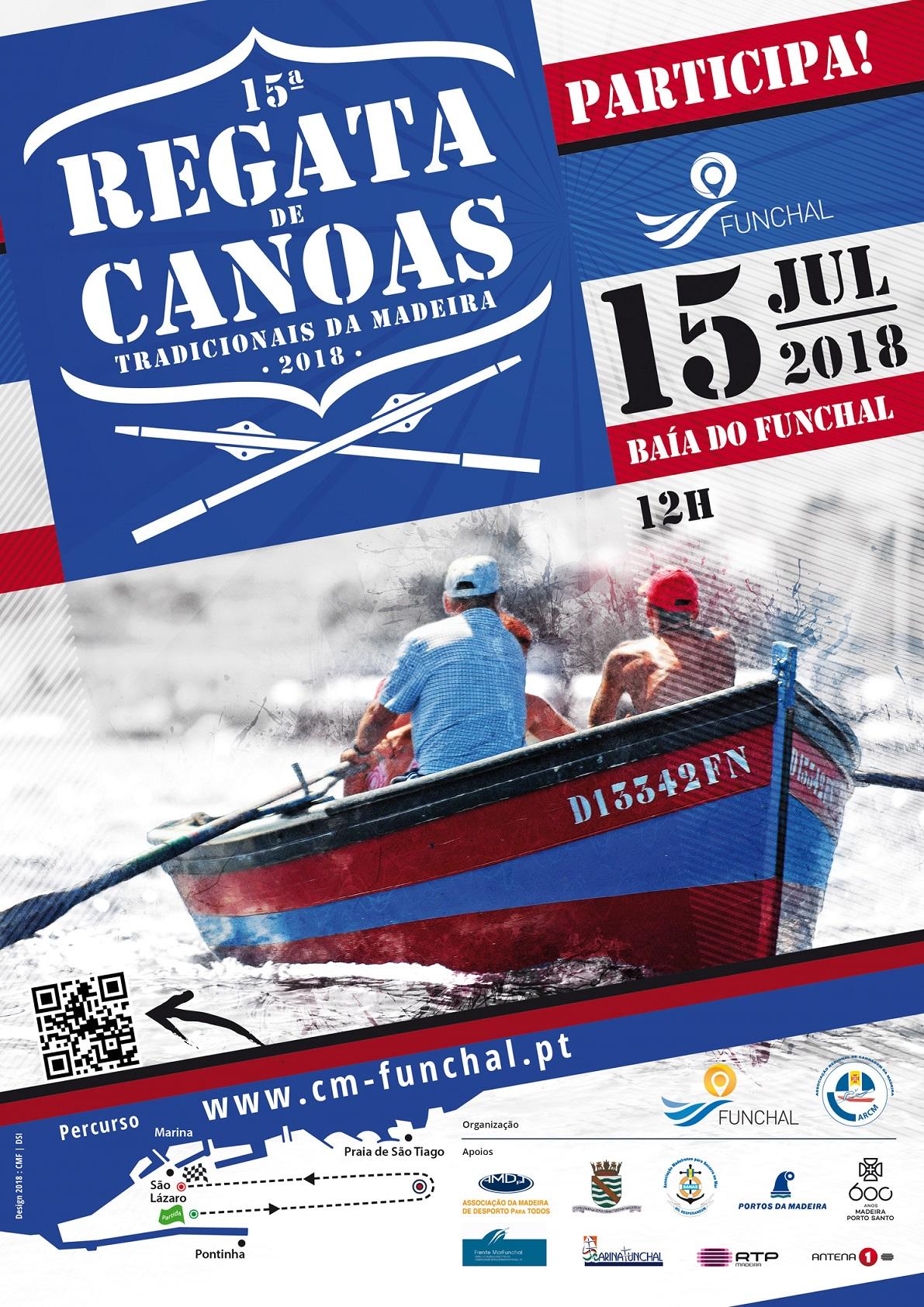 XV Regata Canoas Tradicionais da Madeira