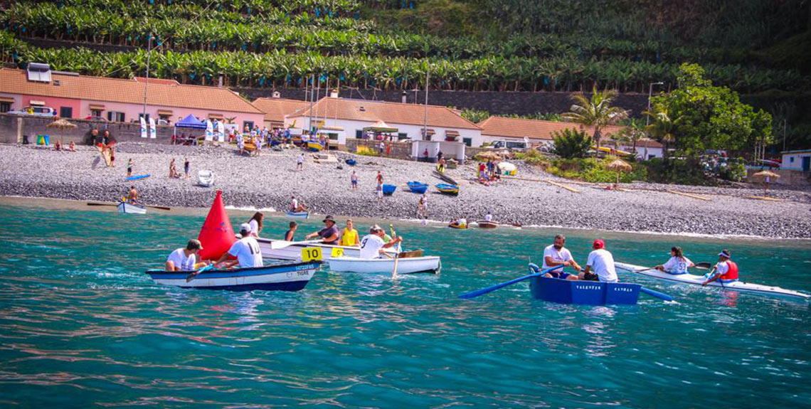 Regata Canoas Paul do Mar